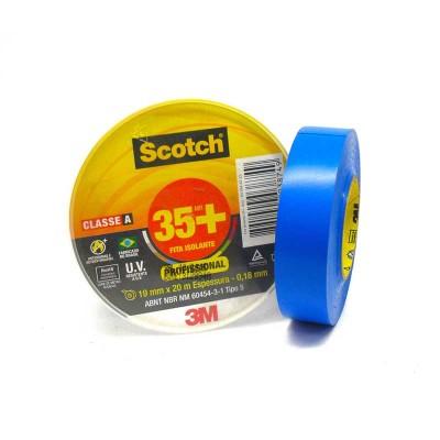 Fita Isolante 35+ Azul 3M